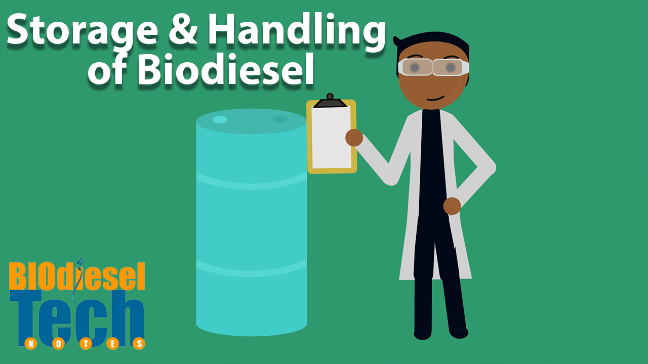 Storage and Handling of Biodiesel